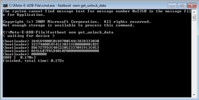 bootloader unlock moto e 11