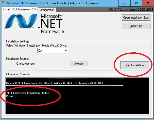 Net 3 5 sp1 offline installer download profile